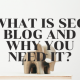 What Is SEO Blog and Why You Need It_
